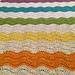 Paintbox Rainbow Baby Blanket pattern