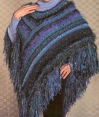 Modular Crochet Poncho