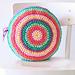 Gelato Pops Cushion pattern
