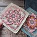 Blooming Lotus Square pattern
