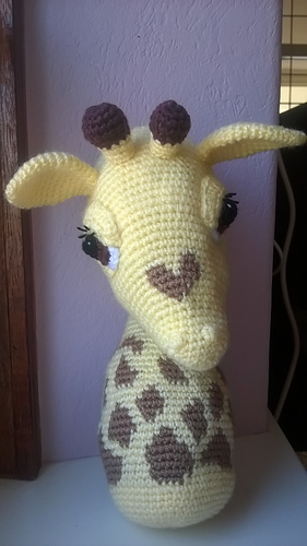 Ravelry: Baby Giraffe Amigurumi pattern by Courtney Deley | 500x281