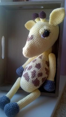 Ravelry: Giraffe Amigurumi pattern by Miss Dolkapots | 500x281
