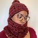 Snood et bonnet Didot pattern