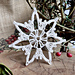 Crystal Star Snowflake pattern