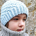 ERIKA Beanie Slouch in Aran pattern