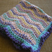 Crochet Baby Blanket - Spring Rainbow - Quick & Cozy Series pattern