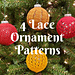 Chaos Ornament Sleeves - Lace pattern