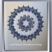 Let It Snow Christmas Doily pattern