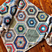 Painted Hexagons pattern
