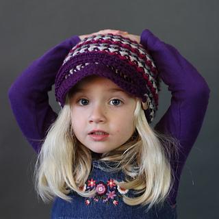 Crochet Brookside Newsboy
