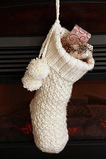 Brighton Crochet Christmas Stocking