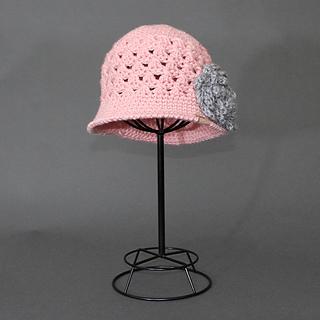 Chloe Crochet Cloche Hat