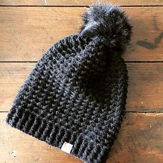 Crochet Brookside Slouchy Hat