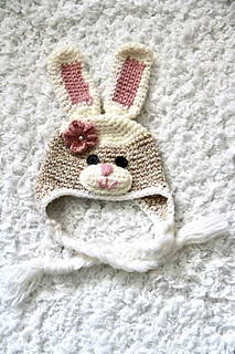 crochet sock bunny hat