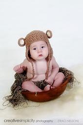 Chunky Monkey Crochet Hat