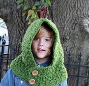 Crochet Dino Cowl and Hood