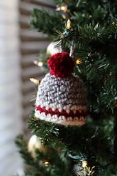 Crochet Hat Christmas Ornament