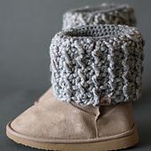 Woodland Crochet Boot Cuffs
