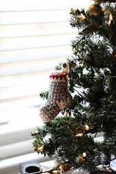 Crochet Christmas Stocking Ornament