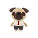 Mr. Pug Amigurumi dog pattern