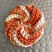 Spiral Eco-Tawashi pattern