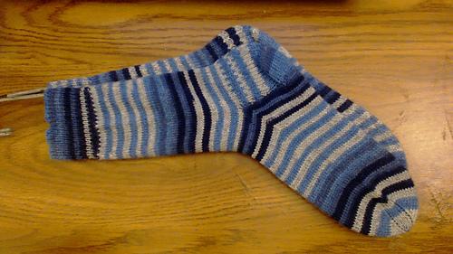 Ravelry: Dainami's Hand Knit Machine Sock. pattern by ...