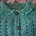 Fan Stitch Cardigan pattern