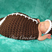 Chunky Baby Football Cocoon pattern