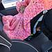 Chunky Car Seat Poncho pattern