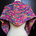 Neon Lights Shawlette pattern