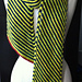 Electric Diagonal Stripes Scarf pattern