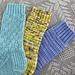Textured Socks Three More Ways pattern