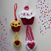 Cupcake Dangler or Applique pattern