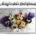 A despicable Christmas - Minion inspired pattern