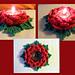 Tealight Rose pattern