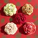 Rose Brooch pattern