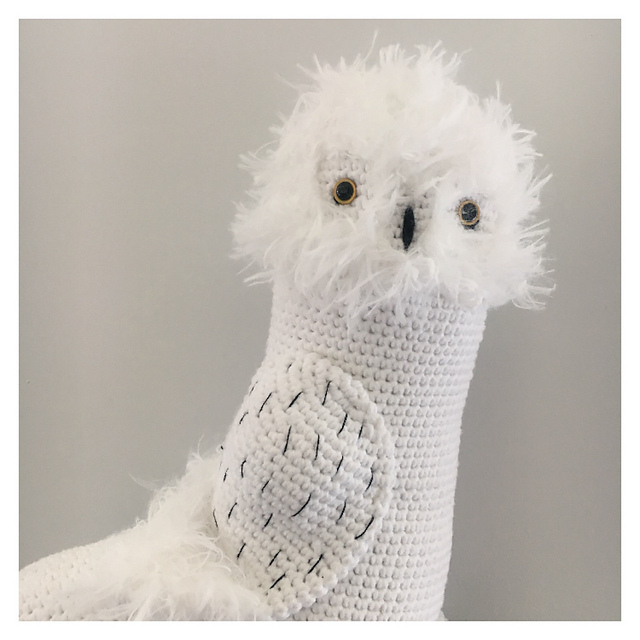 Hedwig the Owl Crochet Pattern - Auburn Elephant | 640x640