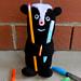 Skunk Pencil Holder pattern