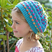 Candy Button Slouch pattern