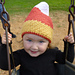 Candy Corn Earflap Hat; Stocking Cap pattern