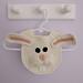 Adorable Bunny Rabbit Drool Bib pattern