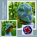 Stars and Flowers Slouch Hat pattern