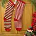 Elf Socks Christmas Stocking pattern