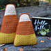 Harvest Corn Pillows pattern