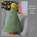 Textured Christmas Tree Pillow pattern