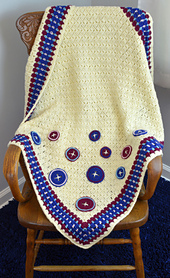 Cute as a Button Baby Blanket
