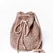 The Bucket Bag pattern