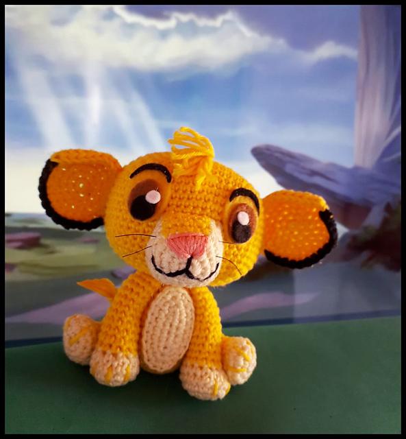 Lion Amigurumi Pattern - Free Crochet Pattern • Craft Passion | 640x593