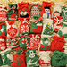 27 Knitted Christmas Santa Sacks pattern