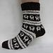 Dartmoor Sheep Socks pattern